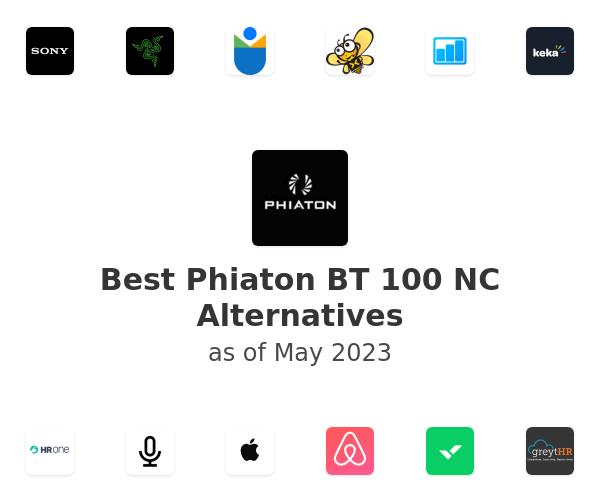 Best Phiaton BT 100 NC Alternatives