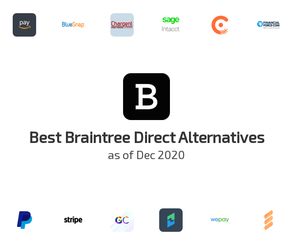Best Braintree Direct Alternatives