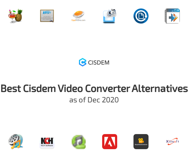 Best Cisdem Video Converter Alternatives