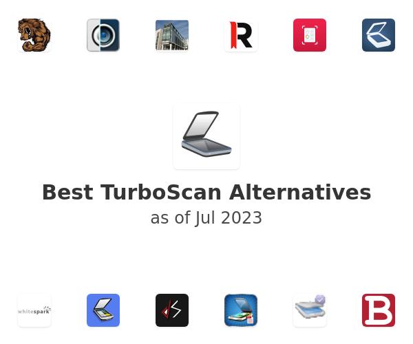 Best TurboScan Alternatives
