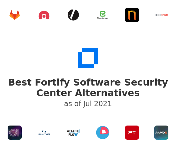 Best Fortify Software Security Center Alternatives