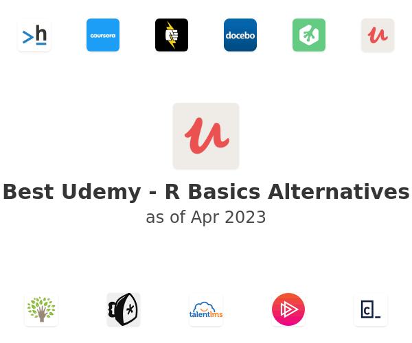 Best Udemy - R Basics Alternatives