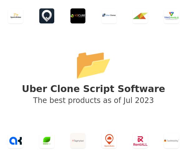 Uber Clone Script Software