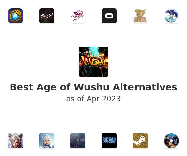 Best Age of Wushu Alternatives