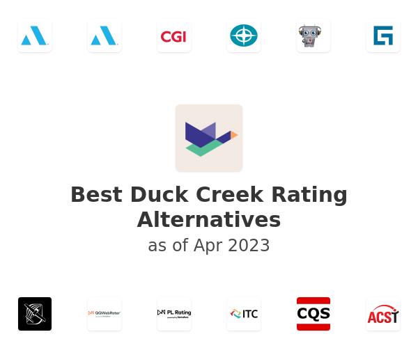 Best Duck Creek Rating Alternatives