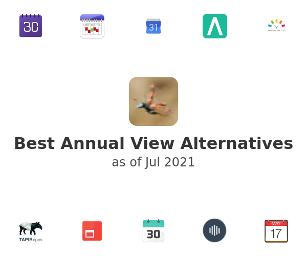 Best Annual View Alternatives