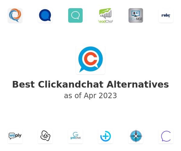 Best Clickandchat Alternatives