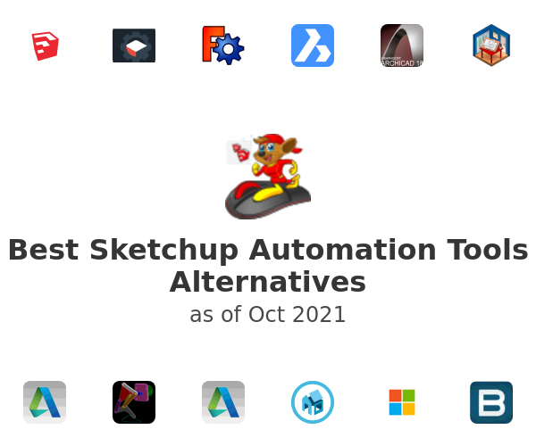 Best Sketchup Automation Tools Alternatives