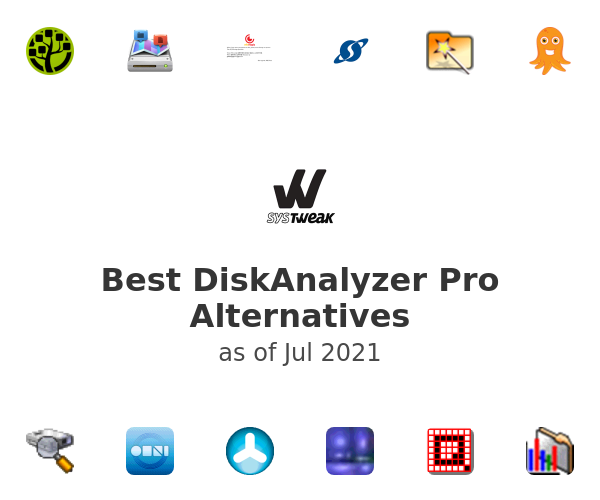 Best DiskAnalyzer Pro Alternatives