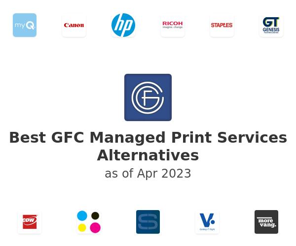 Best GFC Managed Print Services Alternatives