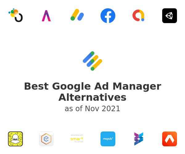 Best Google Ad Manager Alternatives