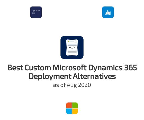 Best Custom Microsoft Dynamics 365 Deployment Alternatives