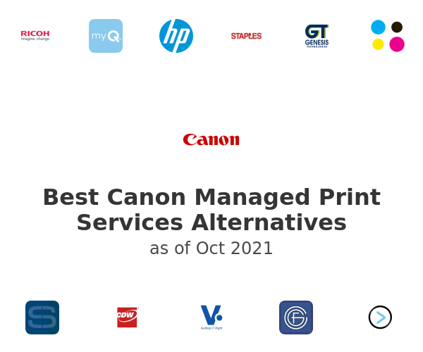 Best Canon Managed Print Services Alternatives
