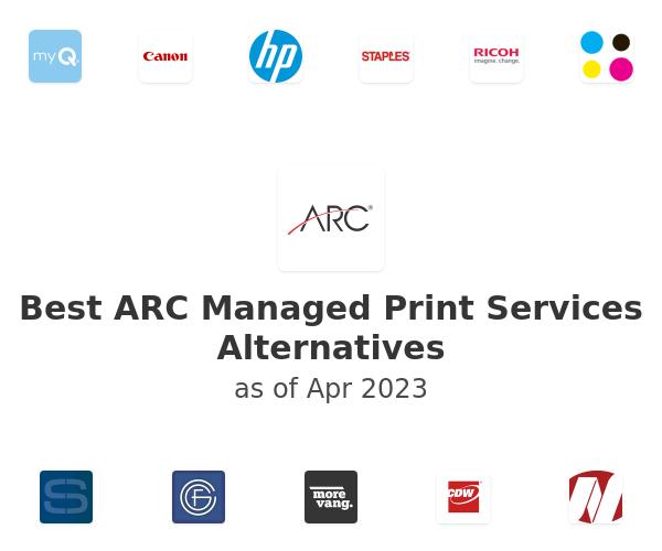 Best ARC Managed Print Services Alternatives