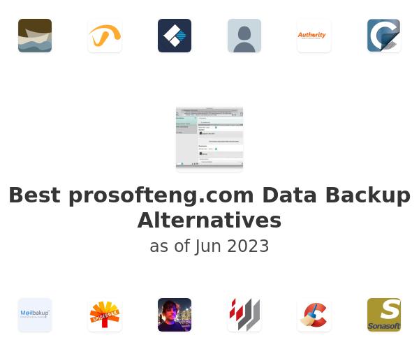 Best Data Backup Alternatives