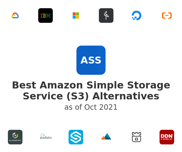 Best Amazon Simple Storage Service (S3) Alternatives