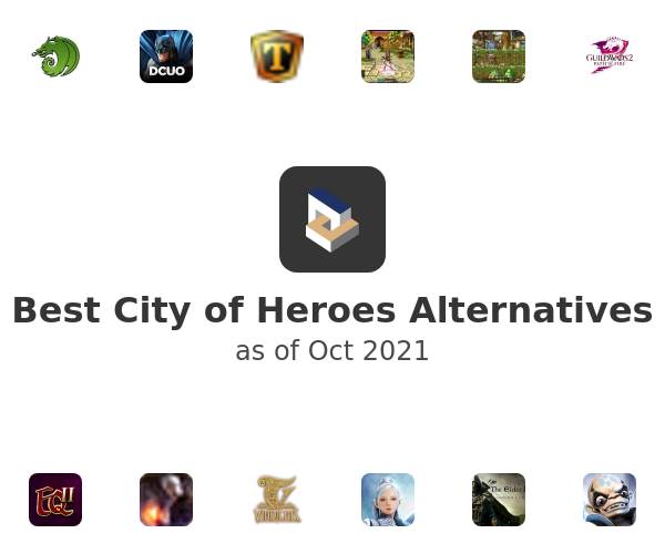 Best City of Heroes Alternatives