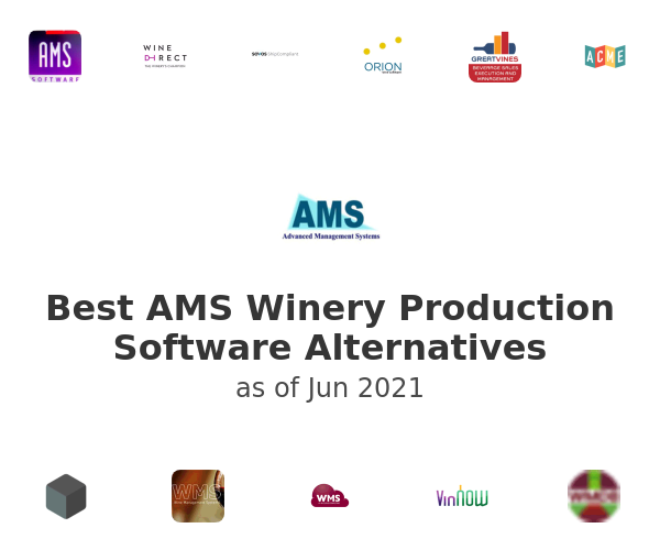 Best AMS Winery Production Software Alternatives