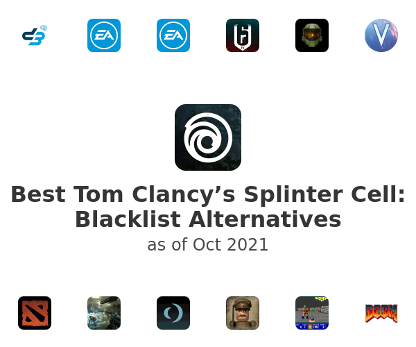 Best Tom Clancy's Splinter Cell: Blacklist Alternatives