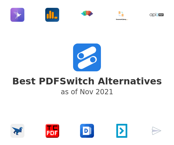 Best PDFSwitch Alternatives