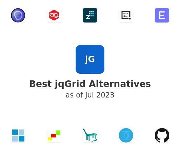 Best jqGrid Alternatives