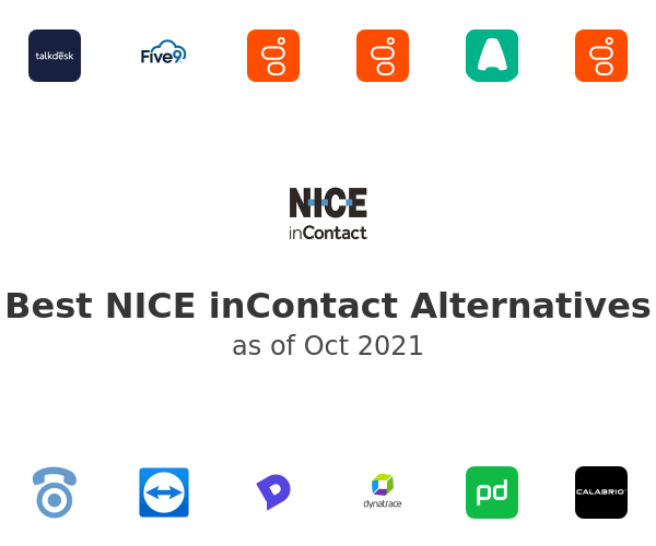 Best NICE inContact Alternatives