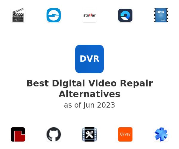 Best Digital Video Repair Alternatives