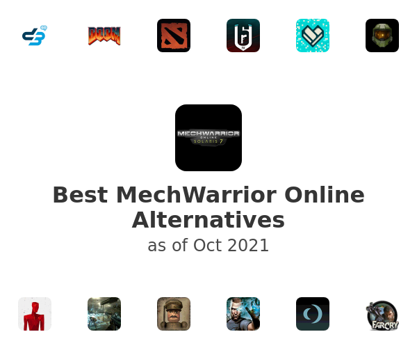 Best MechWarrior Online Alternatives