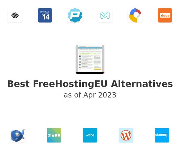 Best FreeHostingEU Alternatives