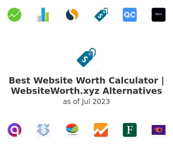 Best Website Worth Calculator | WebsiteWorth.xyz Alternatives