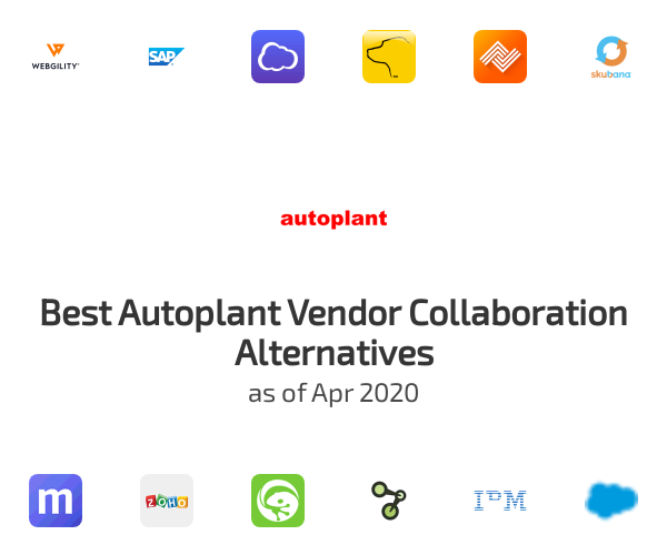 Best Autoplant Vendor Collaboration Alternatives