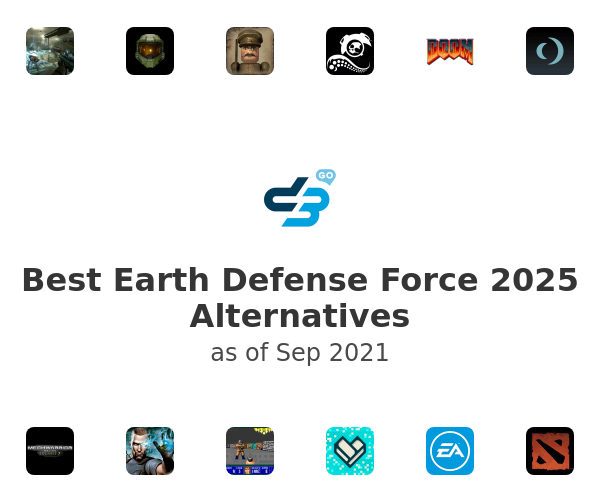Best Earth Defense Force 2025 Alternatives