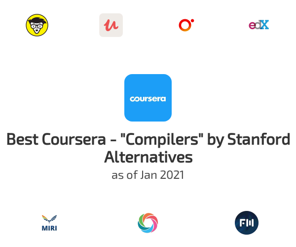 """Best Coursera - """"Compilers"""" by Stanford Alternatives"""
