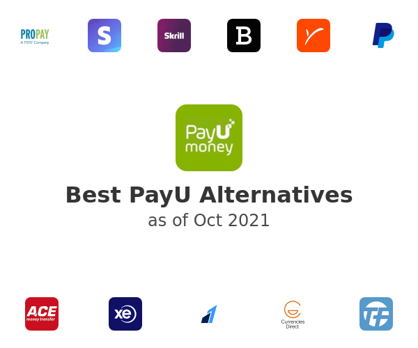 Best PayU Alternatives