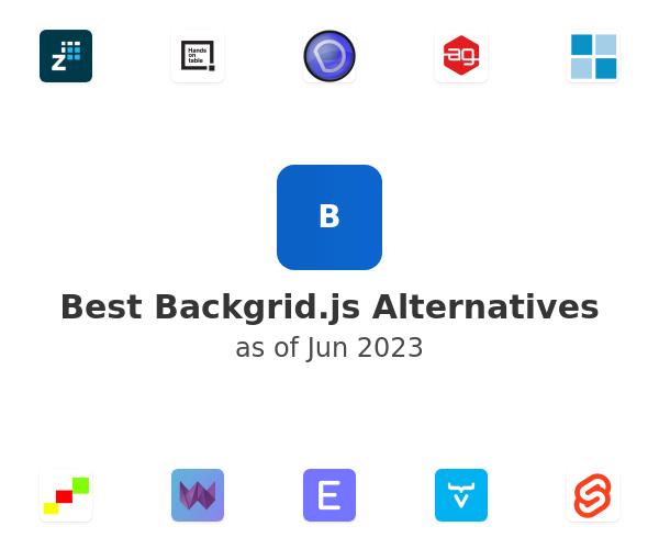 Best Backgrid.js Alternatives