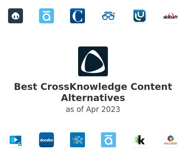 Best CrossKnowledge Content Alternatives