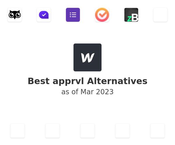 Best apprvl Alternatives
