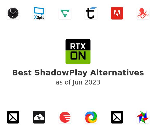 Best ShadowPlay Alternatives