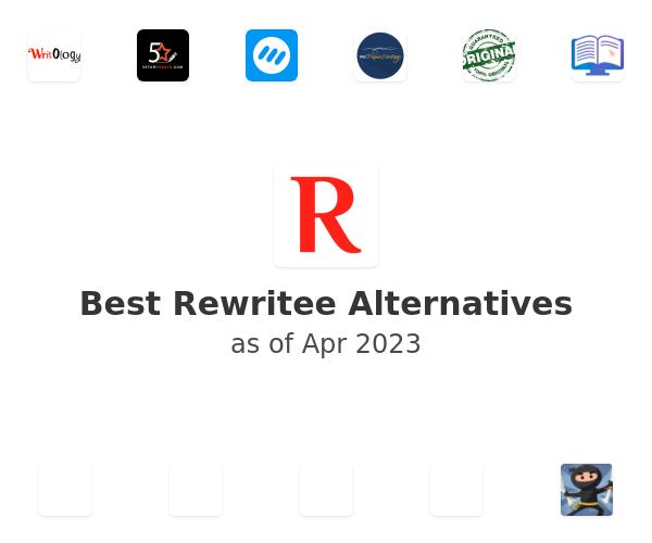 Best Rewritee Alternatives