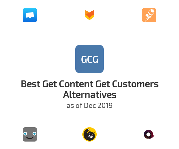 Best Get Content Get Customers Alternatives