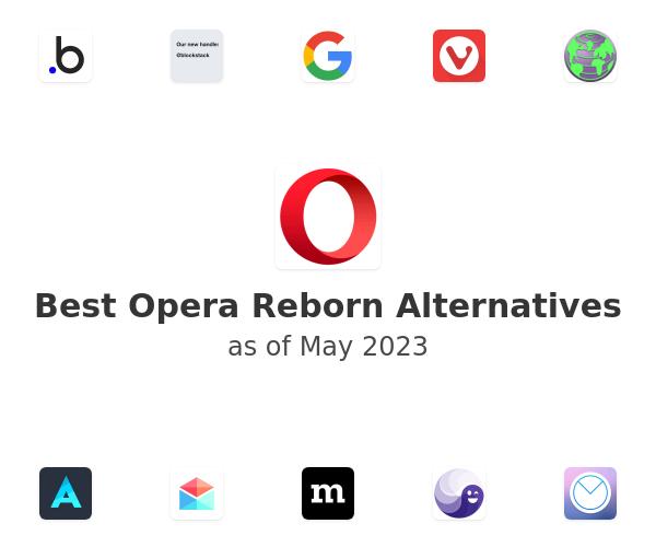 Best Opera Reborn Alternatives