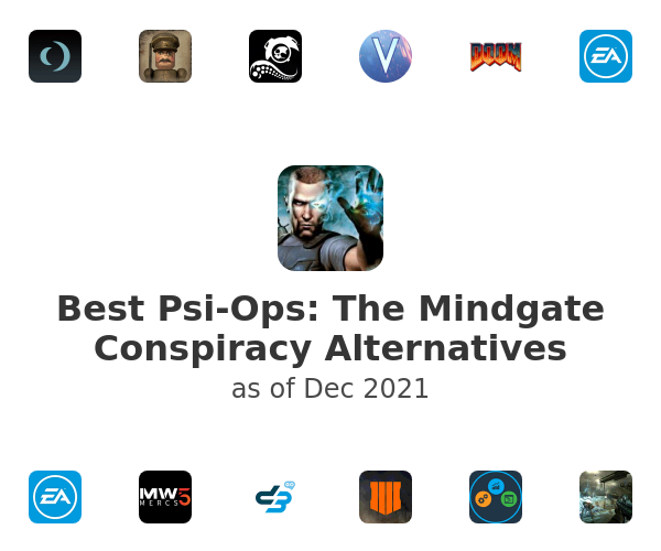 Best Psi-Ops: The Mindgate Conspiracy Alternatives