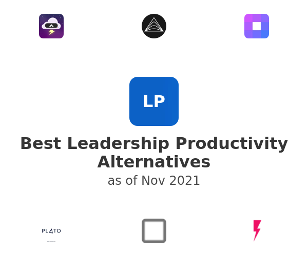 Best Leadership Productivity Alternatives