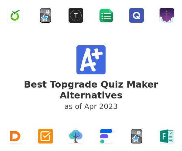 Best Topgrade Quiz Maker Alternatives