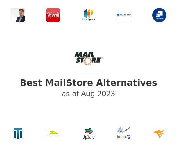 Best MailStore Alternatives