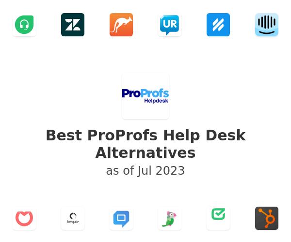 Best ProProfs Help Desk Alternatives