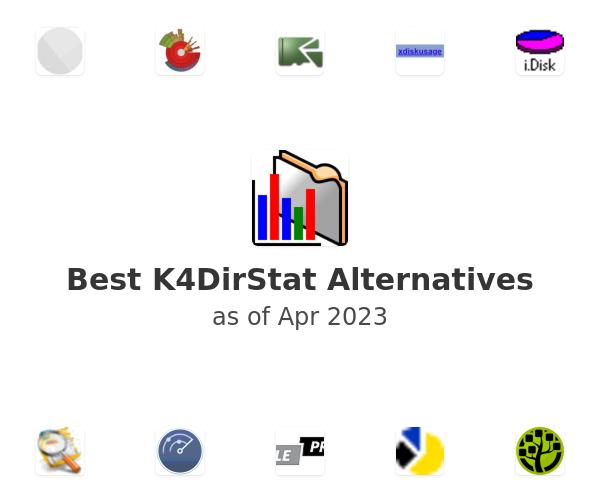 Best K4DirStat Alternatives