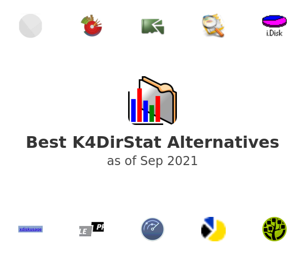 Best K4DirStat Alternatives