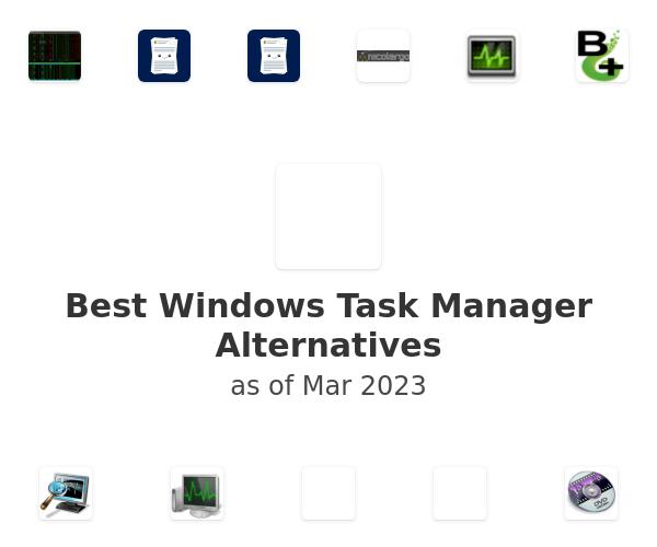 Best Windows Task Manager Alternatives