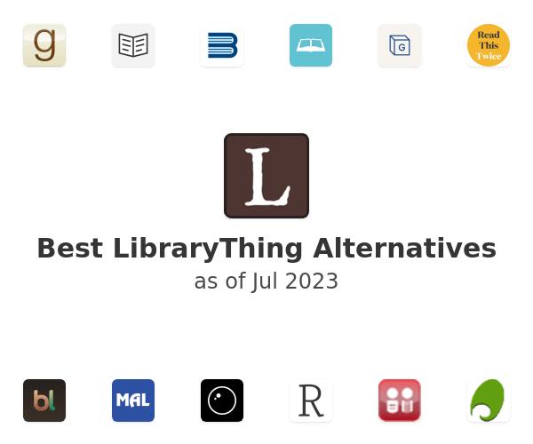 Best LibraryThing Alternatives